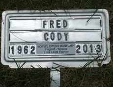 CODY, FRED - Coconino County, Arizona | FRED CODY - Arizona Gravestone Photos