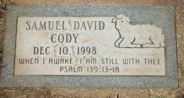 CODY, SAMUEL DAVID - Coconino County, Arizona | SAMUEL DAVID CODY - Arizona Gravestone Photos