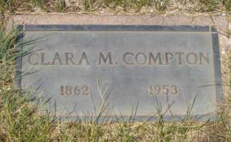 PETERSON COMPTON, CLARA MARGARETTE - Coconino County, Arizona | CLARA MARGARETTE PETERSON COMPTON - Arizona Gravestone Photos