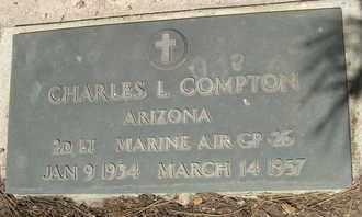 COMPTON, CHARLES L. - Coconino County, Arizona | CHARLES L. COMPTON - Arizona Gravestone Photos