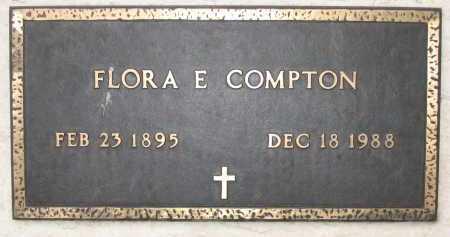 COMPTON, FLORA E - Coconino County, Arizona | FLORA E COMPTON - Arizona Gravestone Photos