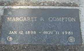 COMPTON, MARGARET R. - Coconino County, Arizona | MARGARET R. COMPTON - Arizona Gravestone Photos