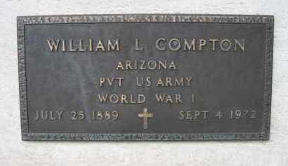 COMPTON, WILLIAM L - Coconino County, Arizona | WILLIAM L COMPTON - Arizona Gravestone Photos