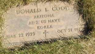 COOK, DONALD L. - Coconino County, Arizona | DONALD L. COOK - Arizona Gravestone Photos