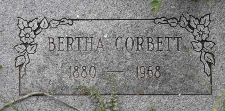 CORBETT, BERTHA - Coconino County, Arizona | BERTHA CORBETT - Arizona Gravestone Photos