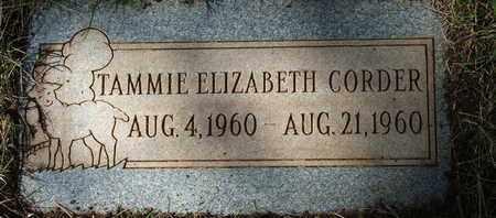 CORDER, TAMMIE ELIZABETH - Coconino County, Arizona   TAMMIE ELIZABETH CORDER - Arizona Gravestone Photos