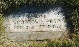 CRAIN, WOODROW R. - Coconino County, Arizona   WOODROW R. CRAIN - Arizona Gravestone Photos