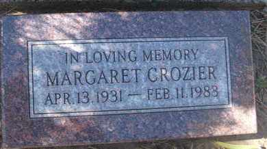CROZIER, MARGARET - Coconino County, Arizona | MARGARET CROZIER - Arizona Gravestone Photos