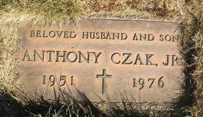 CZAK, JR., ANTHONY - Coconino County, Arizona | ANTHONY CZAK, JR. - Arizona Gravestone Photos