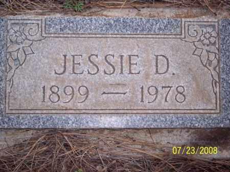 D., JESSIE - Coconino County, Arizona | JESSIE D. - Arizona Gravestone Photos