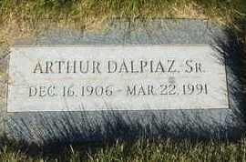 DALPIAZ, SR., ARTHUR - Coconino County, Arizona | ARTHUR DALPIAZ, SR. - Arizona Gravestone Photos