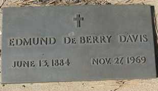 DAVIS, EDMUND DEBERRY - Coconino County, Arizona   EDMUND DEBERRY DAVIS - Arizona Gravestone Photos