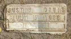 DAVIS, JUSTIN - Coconino County, Arizona | JUSTIN DAVIS - Arizona Gravestone Photos