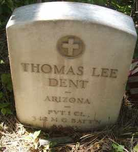 DENT, THOMAS LEE - Coconino County, Arizona | THOMAS LEE DENT - Arizona Gravestone Photos