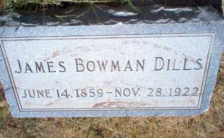 DILLS, JAMES BOWMAN - Coconino County, Arizona | JAMES BOWMAN DILLS - Arizona Gravestone Photos