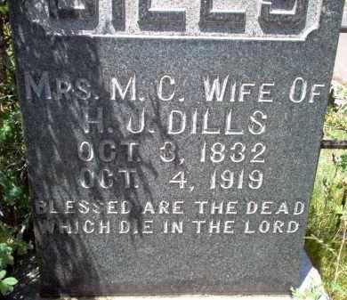 DILLS, MRS. M.C. - Coconino County, Arizona | MRS. M.C. DILLS - Arizona Gravestone Photos