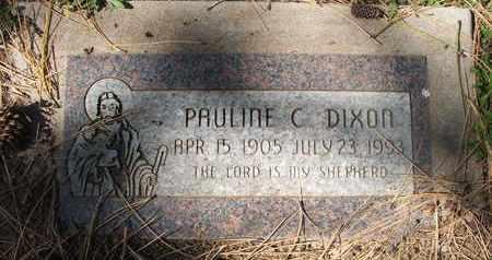 DIXON, PAULINE C. - Coconino County, Arizona | PAULINE C. DIXON - Arizona Gravestone Photos