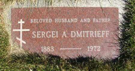 DMITRIEFF, SERGEI A. - Coconino County, Arizona   SERGEI A. DMITRIEFF - Arizona Gravestone Photos