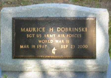 DOBRINSKI, MAURICE H. - Coconino County, Arizona   MAURICE H. DOBRINSKI - Arizona Gravestone Photos