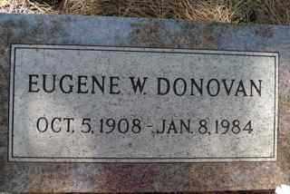 DONOVAN, EUGENE W. - Coconino County, Arizona | EUGENE W. DONOVAN - Arizona Gravestone Photos