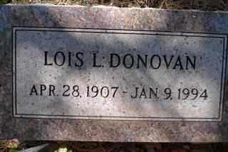 BAKER DONOVAN, LOIS LAUREL - Coconino County, Arizona | LOIS LAUREL BAKER DONOVAN - Arizona Gravestone Photos