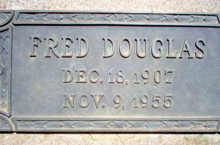 DOUGLAS, FRED - Coconino County, Arizona   FRED DOUGLAS - Arizona Gravestone Photos