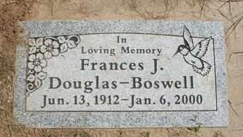 DOUGLAS-BOSWELL, FRANCES J. - Coconino County, Arizona | FRANCES J. DOUGLAS-BOSWELL - Arizona Gravestone Photos