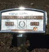 HUNT DOWELL, AGNES VERDELL - Coconino County, Arizona | AGNES VERDELL HUNT DOWELL - Arizona Gravestone Photos