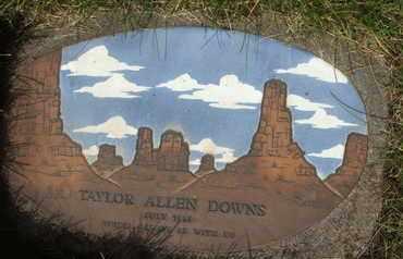 DOWNS, TAYLOR ALLEN - Coconino County, Arizona   TAYLOR ALLEN DOWNS - Arizona Gravestone Photos