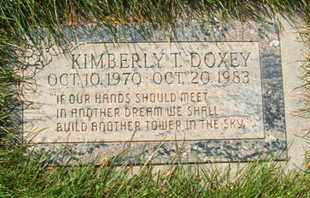 DOXEY, KIMBERLY T. - Coconino County, Arizona | KIMBERLY T. DOXEY - Arizona Gravestone Photos