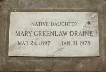DRAINE, MARY - Coconino County, Arizona | MARY DRAINE - Arizona Gravestone Photos