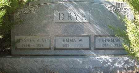 DRYE, LESTER A., SR - Coconino County, Arizona | LESTER A., SR DRYE - Arizona Gravestone Photos