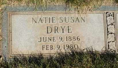DRYE, NATIE SUSAN - Coconino County, Arizona | NATIE SUSAN DRYE - Arizona Gravestone Photos