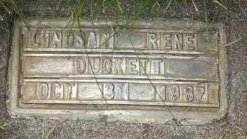 DUCKETT, LINDSAY RENE - Coconino County, Arizona | LINDSAY RENE DUCKETT - Arizona Gravestone Photos