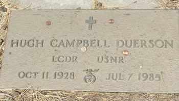 DUERSON, HUGH CAMPBELL - Coconino County, Arizona | HUGH CAMPBELL DUERSON - Arizona Gravestone Photos