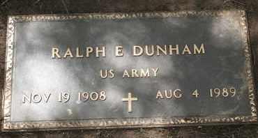DUNHAM, RALPH E. - Coconino County, Arizona   RALPH E. DUNHAM - Arizona Gravestone Photos