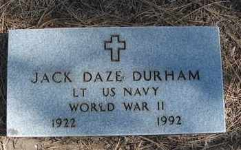 DURHAM, JACK DAZE - Coconino County, Arizona | JACK DAZE DURHAM - Arizona Gravestone Photos