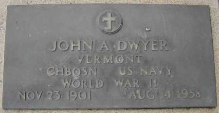 DWYER, JOHN A. - Coconino County, Arizona | JOHN A. DWYER - Arizona Gravestone Photos