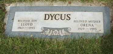 DYCUS, ORENA - Coconino County, Arizona   ORENA DYCUS - Arizona Gravestone Photos
