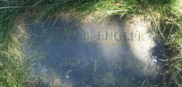 ENGLER, RUTH B. - Coconino County, Arizona | RUTH B. ENGLER - Arizona Gravestone Photos