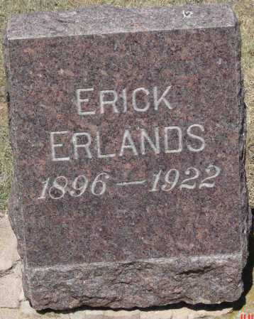 ERLANDS, ERICK - Coconino County, Arizona | ERICK ERLANDS - Arizona Gravestone Photos