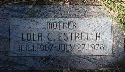 ESTRELLA, LOLA C. - Coconino County, Arizona | LOLA C. ESTRELLA - Arizona Gravestone Photos