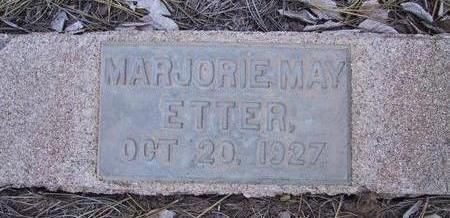 ETTER, MARJORIE MAE - Coconino County, Arizona | MARJORIE MAE ETTER - Arizona Gravestone Photos