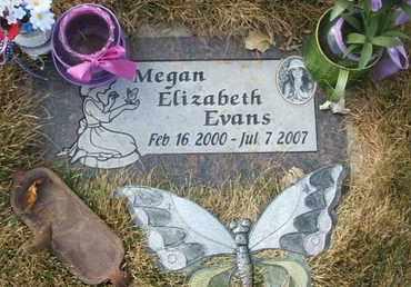 EVANS, MEGAN ELIZABETH - Coconino County, Arizona   MEGAN ELIZABETH EVANS - Arizona Gravestone Photos