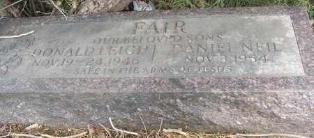 FAIR, DANIEL NEIL - Coconino County, Arizona | DANIEL NEIL FAIR - Arizona Gravestone Photos