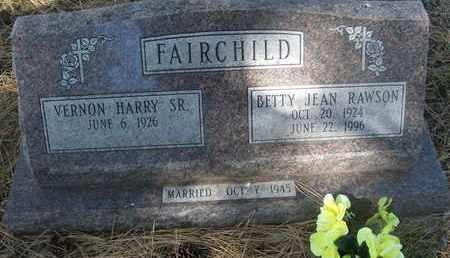 FAIRCHILD, BETTY JEAN - Coconino County, Arizona | BETTY JEAN FAIRCHILD - Arizona Gravestone Photos