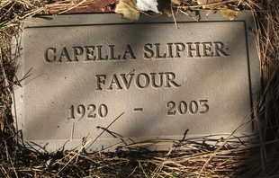 SLIPHER FAVOUR, CAPELLA - Coconino County, Arizona | CAPELLA SLIPHER FAVOUR - Arizona Gravestone Photos