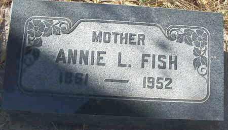 FISH, ANNIE L. - Coconino County, Arizona | ANNIE L. FISH - Arizona Gravestone Photos
