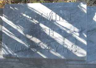 FISH, BENJAMIN F. - Coconino County, Arizona | BENJAMIN F. FISH - Arizona Gravestone Photos