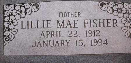 FISHER, LILLIE MAE - Coconino County, Arizona   LILLIE MAE FISHER - Arizona Gravestone Photos